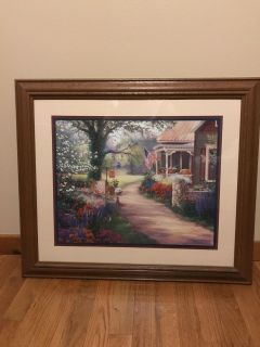 Beautiful country cottage picture