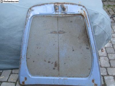 Ghia lowlight or pre -1965 front hood 1956-1964