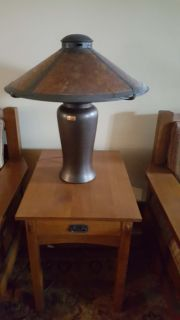 Mica Lamp Company Milkcan Table