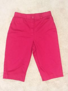 Red Bermuda Shorts size 8