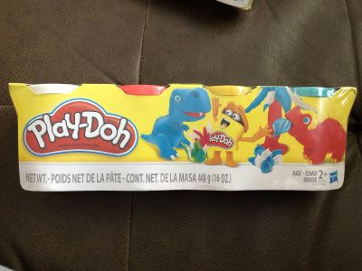 NIP PLAY-DOH 4 pack - Classic Colors - 1 of 2 - NO ADDL DISCOUNTS