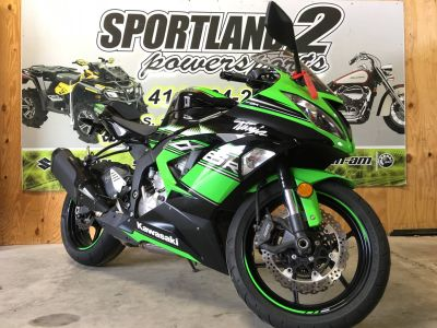 2016 Kawasaki Ninja ZX-6R KRT Edition SuperSport Motorcycles Oak Creek, WI