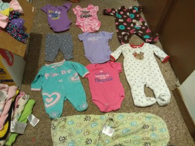 Newborn to 3 months baby girl clothes
