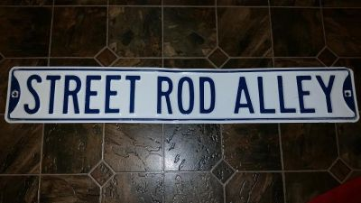 Street Rod Metal Sign