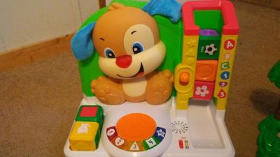 Fisher Price Learning Blocks with Puppy