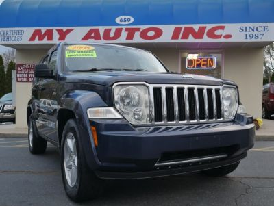 2008 Jeep Liberty Limited (Modern Blue Pearl)