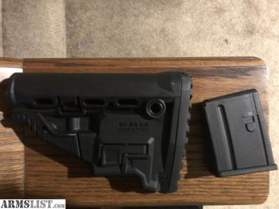 For Sale: FAB Defense GL-MAG AR15 stock