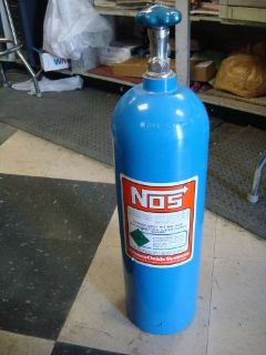 Buy NITROUS OXIDE 10LB TANK NOS FORD CHEVY MUSTANG CAMARO DODGE CHARGER RACE CAR motorcycle in Fresno, California, United States, for US $100.00