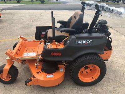 2018 SCAG Power Equipment Patriot (SPZ52-22FX) Commercial Mowers Lawn Mowers Lancaster, SC
