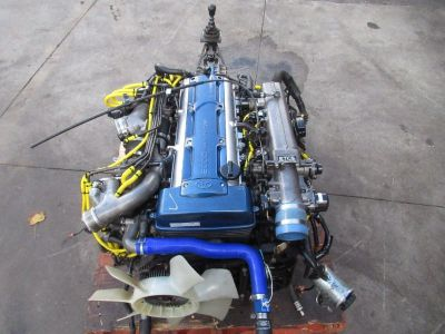 JDM Toyota Supra 2JZ GTE Twin Turbo Engine 6 Speed V161 GETRAG Transmission 2JZ