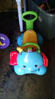 Elephant ride on and walker