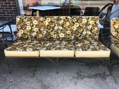 Mid Century patio sofa
