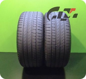 Buy 2 Very Nice Pirelli Tires 275/40/18 Cinturato P7 RunFlat OEM BMW #37208 motorcycle in Pompano Beach, Florida, United States, for US $270.00