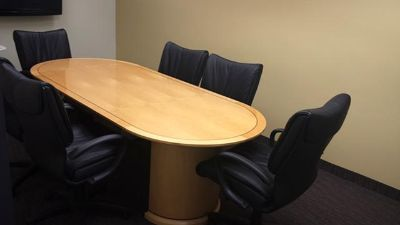 $1, Conference Table  Chairs High end