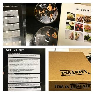 Insanity box set great condition