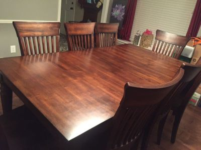 EVERYTHING MUST GO BY 6/28/19!! $600 World Market Dining Room table seats up to 8