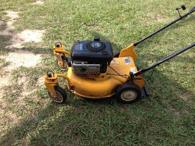 $135, Cub Cadet SRC621 Rear Wheel Drive Variable Speed Self Propelled Commercial Grade Mower