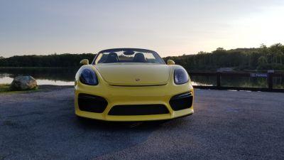 2016 Racing Yellow Boxster Spyder - Original Owner!Clean Car!- $79,900