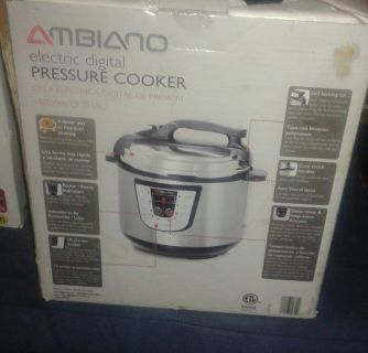 Ambiano pressure cooker