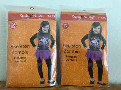 Skeleton Zombie costumes (new)