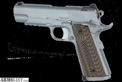 For Sale: DAN WESSON SPECIALIST COMMANDER (9MM)