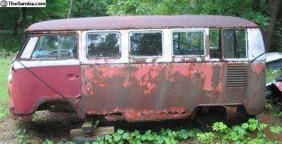 Parting Out 1964 SWR Bus