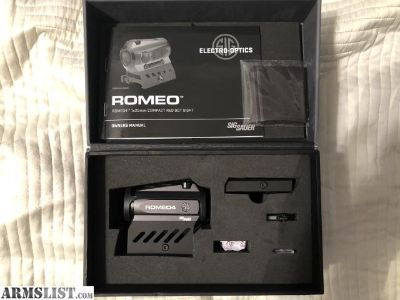 For Sale/Trade: Sig Romeo 4A for Trade
