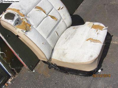 passenger bug low back seat