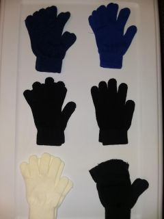 Assorted gloves lot (6 pairs)