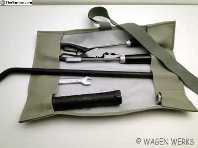 Tool Roll Kit - Bug Type 2 Ghia - Grey