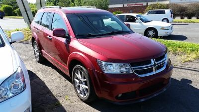 2011 Dodge Journey Crew (Deep Cherry Red Crystal Pearl)