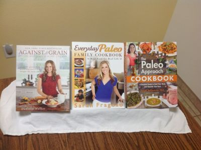 THREE COOKBOOKS