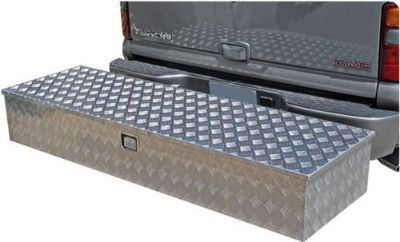 "Purchase 60"" ALUMINUM HITCH MOUNTED CARGO CARRIER BOX-TOOL-STORAGE-CONSTRUCTION (CL-60) motorcycle in West Bend, Wisconsin, US, for US $289.99"