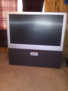 "Magnavox 52"" HD projection TV"