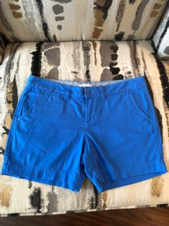 Blue Red Camel Shorts