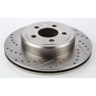 Buy JEGS Performance Products 632205 HP Drilled & Slotted Brake Rotor motorcycle in Delaware, Ohio, United States, for US $39.99