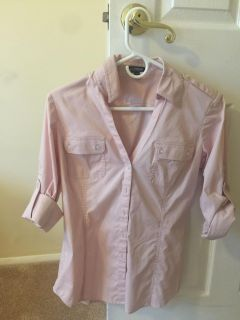 Express 3/4 sleeve top Size M