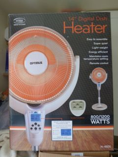 "Optimus 14"" Digital Dish Heater"