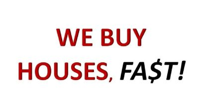 WE BUY HOUSES CA$H!**
