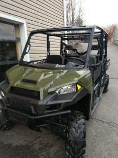 2016 Polaris Ranger Crew XP 900-6 Side x Side Utility Vehicles Ledgewood, NJ