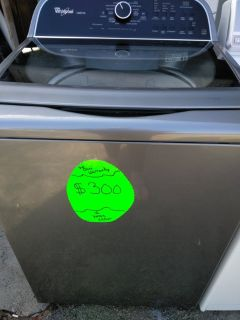 Whirlpool cabriolet washer
