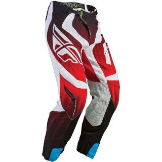 Sell Red/White W36 Fly Racing Lite Hydrogen Pants 2013 Model motorcycle in San Bernardino, California, US, for US $116.99