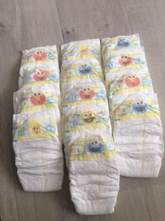 13 - New size 3 Pampers
