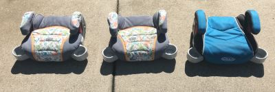 Graco Booster Seats - 3 for Sale