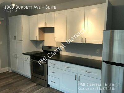 Furnished Suite For Rent in Beautiful 4 Bdrm House -3 Doors from RPI
