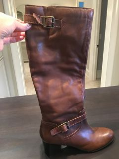 Franco Sarto Brown Boots- Patriot Riding Boots. Size 9.5 (I wear a 10 but these fit me). ONLY WO...