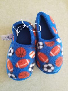 Size 11/12 boys slippers-never worn