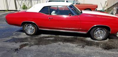1972 chevelle big block