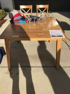Kitchen Table with 4 Chairs from Living Spaces