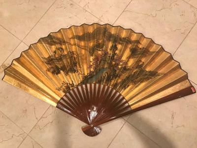 Authentic Chinese Hand Painted Fan